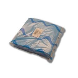 Servilleta para comedor de colores 40x40 cm turquesa
