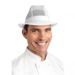 Sombrero Trilby blanco