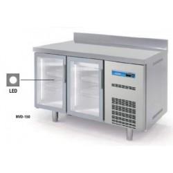 Mesa Fría Snack Refrigeración Gama Speed LED 4 Puertas
