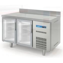 Mesa Fría GN 1/1 Speed Cristal LED 2 Puertas
