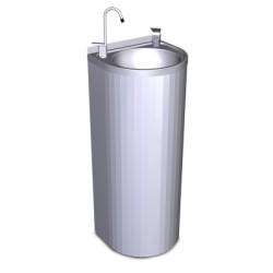 Fuente de columna sin refrigeración