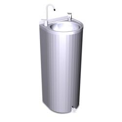 Fuente de columna de pedal sin refrigeración