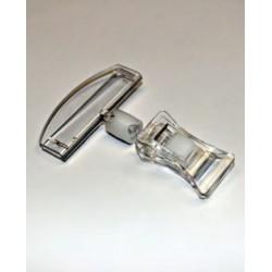 Soporte carteles Pinza abertura máxima 3 cm con soporte
