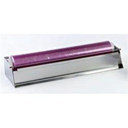 Dispensador inox con cuchilla 36 x 12,5 x 9 cm