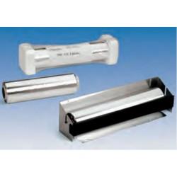 Dispensador inox papel aluminio 45 cm inox, con cuchilla