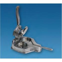 Hamburguesera aluminio 2 unidades redonda