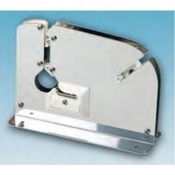 Máquina cierra bolsas acero inox con cuchilla para cortar bolsa