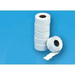 Rollos etiquetas blanco 26 x 12 mm