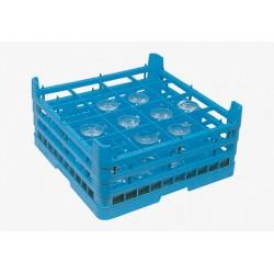 Cesta para cristalería CV-16/205 500 x 500 x 200 mm