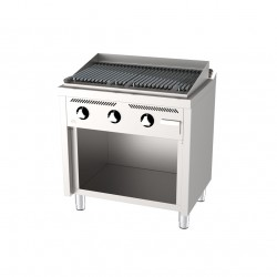 Barbacoa gas 800 estante serie 600