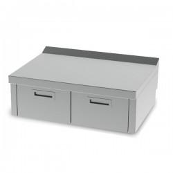 Mueble neutro 800 sobremesa con cajón serie 600