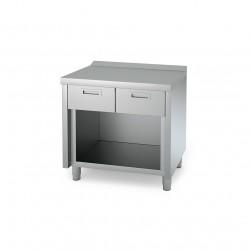 Mueble neutro 800 con estante con cajón serie 600
