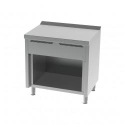 Mueble neutro 800 con estante sin cajón serie 600