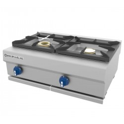 Cocina a gas 1 - 6.50(Kw) . 1 - 8(Kw) 800x550x270 mm Repagas