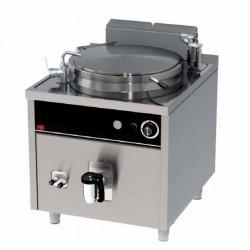 Marmita gas 150 litros manual serie 900