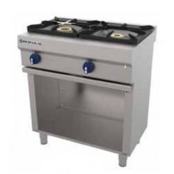 Cocina a gas 1 - 6.50(Kw) . 1 - 8(Kw) 800x550x850 mm Repagas
