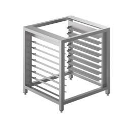 Estructura soporte con porta bandejas para horno serie ALFA420 y ALFA625H.