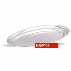 Fuente oval borde vuelto 30x20.2 cm