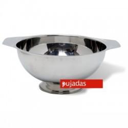 Sopera inox con base 26 diámetro