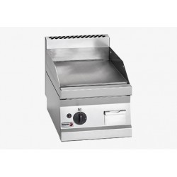 Fry-Top eléctrico de sobremesa serie 600 placa lisa 1 zona 400x650x290 mm FAGOR
