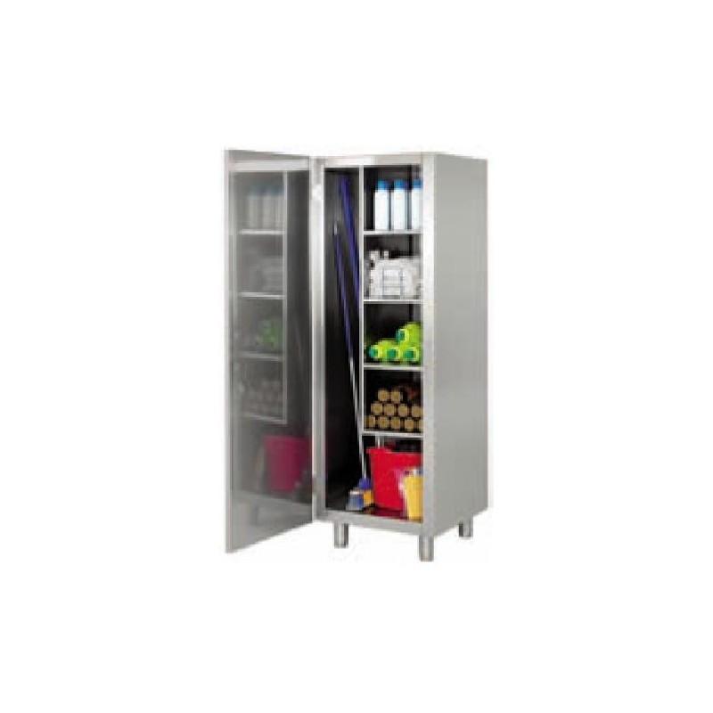 Armario limpieza inox estantes resistentes puertas - Armarios puertas batientes ...