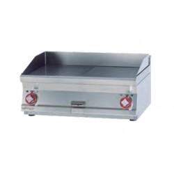 Plancha Fry-Top Acero Inox. Mixta, Sobremesa Eléctrica de 800x600x280 mm LOTUS