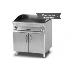 Plancha Fry-Top Vitrocerámica con Mueble Eléctrico de 400x705x900 mm LOTUS