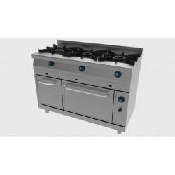 Cocina a GAS 3 Fuegos con Horno 631 Jemi