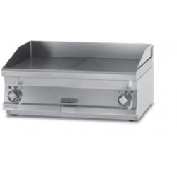 Plancha Fry-Top Acero Inox Mixta, Sobremesa Eléctrica de 600x600x280 mm LOTUS