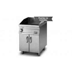 Plancha Fry-Top Acero Inox. Mixta con Mueble Eléctrica de 600x705x900 mm LOTUS