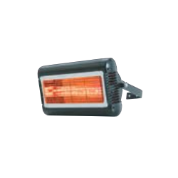 Calefacción radiante eléctrica para exteriores TECNA TANSUN SORRENTO BLANCO (430x228x323mm)