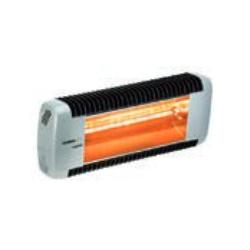 Calefacción radiante eléctrica para exteriores TECNA VARMA BICOLOR 1500 W (460x190x85 mm)