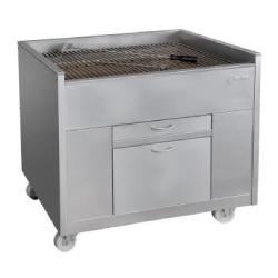 Barbacoas de Carbón Vegetal Estáticas 800 (Con Ventilación) 1000x800x900