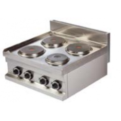 Cocina sobremesa eléctricas 600 EC-606 (600x600x265 mm)