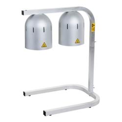 Lámparas de encimera mantenedoras de comida caliente LC-2400 (Ø 270 x 700 mm)
