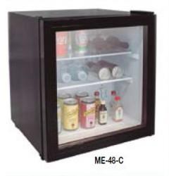 Minivitrinas expositoras puerta cristal ME-48-C (510x450x450 mm)