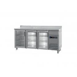 Frente mostrador refrigerado FBR-150-V serie 600 mm (1492x600x1050 mm)