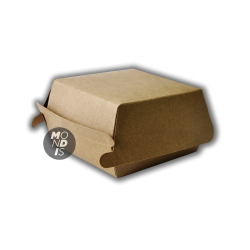 Caja desechable para comida rápida PEQUEÑA (9,7x9,7x6,5 cm)