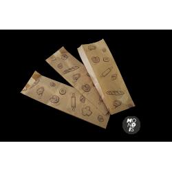 Bolsa de papel para panadería (30x9x5 cm) Caja de 2000 unidades