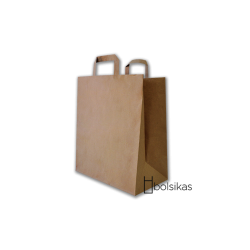 Bolsa de papel para comercios (34x23x11 cm) Una caja de 250 unidades.