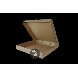 caja cartón kraft para pizza (30x30 cm) Paquete de 100 unidades