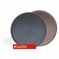 Bandeja de camarero antideslizante 35 diámetro