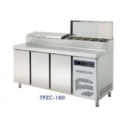 mesa preparación compactas refrigeración 1800x700x1050