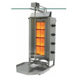 DONER GRILL Typ 4GD Acero Inoxidable / Motor Superior 540x1100x660