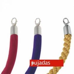 Cordón con ganchos cromados