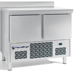 Mesas refigeradas para la preparación de ensaladas 928x700x885mm .FME1002B