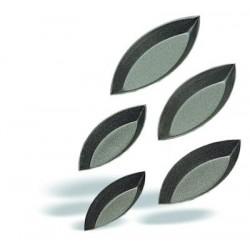Molde barquita lisa 8 x 3,3
