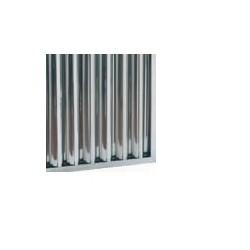 Filtro  de lamas de gran tamaño y estructura de laberinto de acero inoxidable 495x495x50