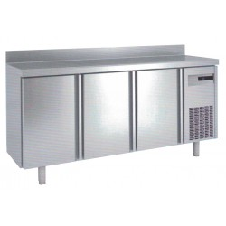 Frente mostrador refigerado acero inox 2000x600x1050, 3 puertas,FM-200