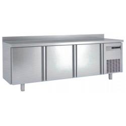 Bajo mostrador refigerado o mesa de preparación 2000x600x850 3 puertas BM-200